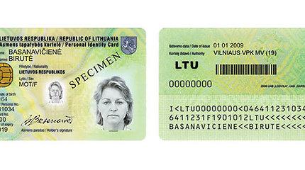 VRM: bus supaprastinta asmens tapatybės dokumentų atsiėmimo tvarka