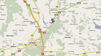 Ukmergės rajone per avariją žuvo žmogus (papildyta 21.17 val.)