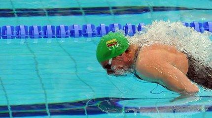 Vytautas Janušaitis iškovojo du pasaulio plaukimo taurės varžybų bronzos medalius