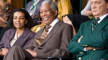 Per premjerą Pietų Afrikoje Freemanas džiaugėsi sugrįžusiu Mandela