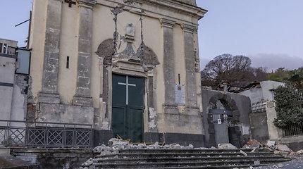 Siciliją supurtė žemės drebėjimas
