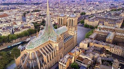 Garsaus architekto studija jau turi viziją, kaip galėtų atrodytų atstatyta Švč. Dievo Motinos katedra