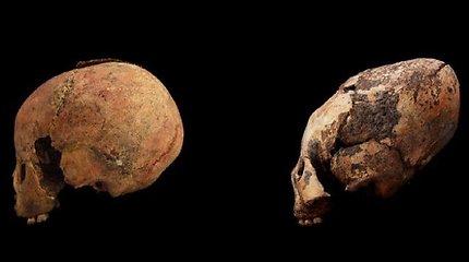 Kinijoje rastos neįprastos kaukolės, kurių amžius 12000 metų