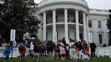 Baltųjų rūmų margučių ridenimo šventė