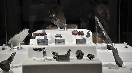 Lietuvos etnokosmologijos muziejuje – didžiausia Baltijos šalyse meteoritų kolekcija