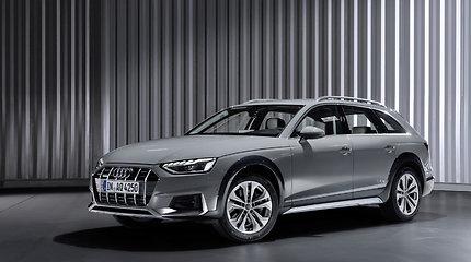 """Naujasis """"Audi A4"""": dar sportiškesnis ir pažangesnis"""