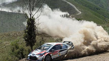 Antroji esto pergalė iš eilės: Ottas Tanakas laimėjo WRC etapą Portugalijoje