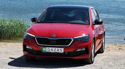 """""""Škoda Scala"""": eksperimentas """"Ir į darbą, ir į sodą"""""""