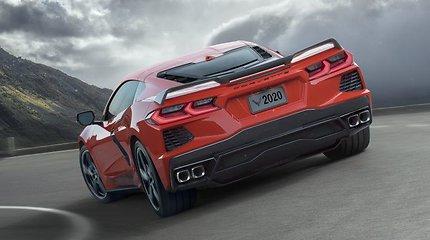 """Superautomobilis """"Chevrolet Corvette"""" C8"""