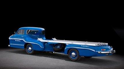 "Mėlynasis stebuklas – ""Mercedes-Benz Renntransporter"""