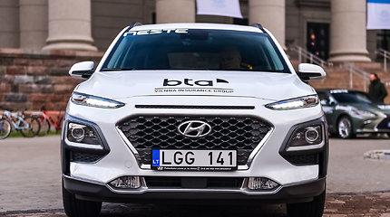 """""""Hyundai Kona Hybrid"""" – konkurso """"Metų automobilis 2020"""" dalyvis"""