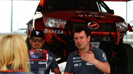 Antanas Juknevičius pristato Dakaro filmą