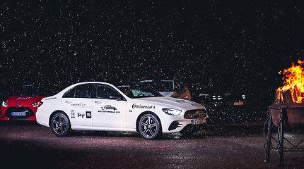 """Mercedes Benz"" E klasės modelis išrinktas ""Verslo klasės"" automobiliu Lietuvoje"