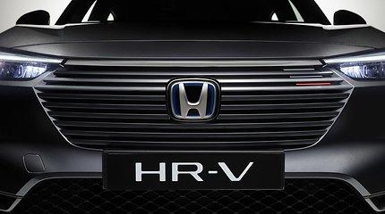 """Naujas """"Honda"""" visureigis """"HR-V"""": kam hibridui du elektros varikliai?"""