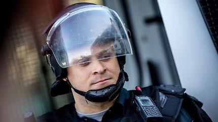 """Policijos šventė Vilniuje, prie PC """"Ozas"""""""