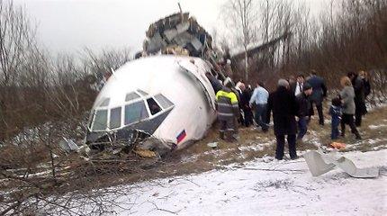 Lenkijos tyrėjai Rusijoje apžiūrėjo sudužusio prezidento L.Kaczynskio lėktuvo nuolaužas