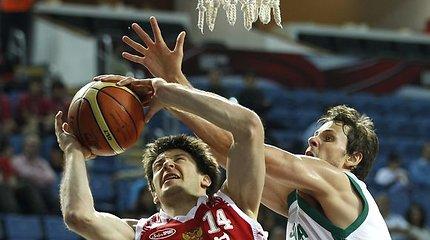 Rusijos rinktinė pasaulio krepšinio čempionate užėmė septintą vietą (statistika, nuotraukos)