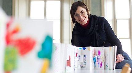 """Sigutė Chlebinskaitė: """"Kūrybinės studijos Vilniaus knygų mugėje misija – susargdinti idėjomis"""""""