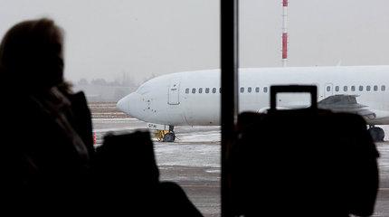 Melagingai pranešta apie iš Londono į Vilnių atskrendančiame lėktuve padėtą bombą