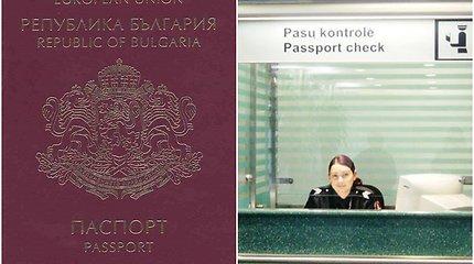 Netikrą bulgarišką pasą turėjęs vyras Vilniuje pareigūnams prisistatė irakiečiu