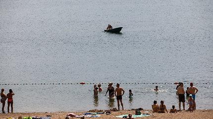 Narai Kauno Lampėdžių paplūdimyje ieško skenduolio