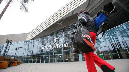 """30 mln. eurų kainavusi Druskininkų """"Snow Arena"""" tyliai užvėrė duris"""