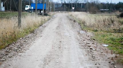 Kelių direkcija 2017–2018 metais įgyvendino 91 proc. žvyrkelių asfaltavimo plano