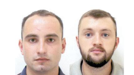 Palangos pareigūnai prašo padėti surasti du vyrus