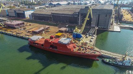 """50-metį mininčios VLG vadovas A.Šileika: """"Lietuva stato laivus. Tai didelė garbė"""""""