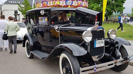 """Laivų parade – apie 80 VW """"vabalų"""""""