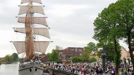 Klaipėdoje – jau dešimtasis laivų paradas