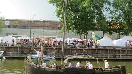 Pagerbs žuvusį kapitoną: Jūros šventę papuoš istorinių laivų flotilė