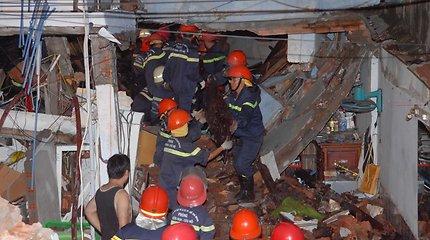 Vietname per gaisrą gyvenamajame daugiaaukštyje žuvo 13 žmonių