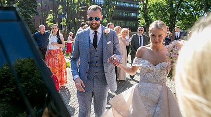 Artūro Milaknio ir jo mylimosios Lauros vestuvės