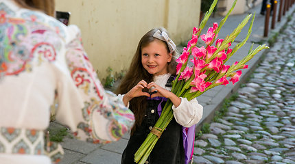 Kšištofo ir Tatjanos jaunėlės Emili Rugsėjo 1-oji