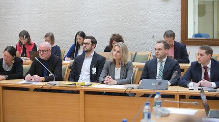 Kultūros komitete – Lietuvos pašto vadovė Asta Sungailienė