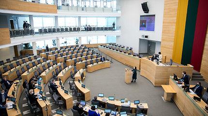 Seimo opozicija siūlo iki metų pabaigos perpus mažinti parlamentines išlaidas