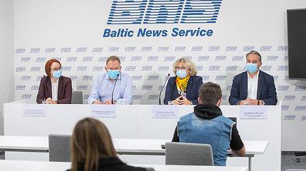 Medikų ir pacientų spaudos konferencija dėl A.Verygos sprendimo