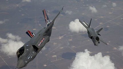Europa modernizuoja savo pajėgas – nuo šiol oro erdves saugos F-35 naikintuvai