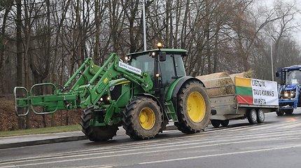 Briuselyje protestuojantys žemdirbiai prašo G.Nausėdos pagalbos dėl išmokų