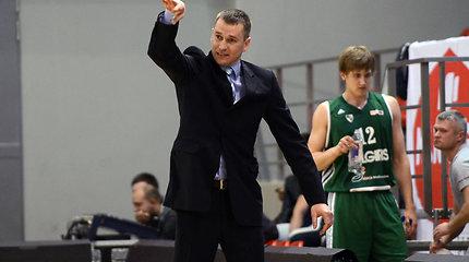 """NKL bronzą laimėjusių """"Žalgirio"""" dublerių treneris Tomas Masiulis: """"Didžioji dalis mūsų žaidėjų – dar vienuoliktokai"""""""