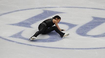 """Varžovių klaidos ant Maskvos ledo lietuvei padovanojo finalą: """"Šokinėjau iš džiaugsmo"""""""