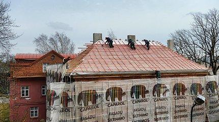 Užbaigti Panevėžio Kraštotyros muziejaus pastatų rekonstrukcijai trūksta pinigų