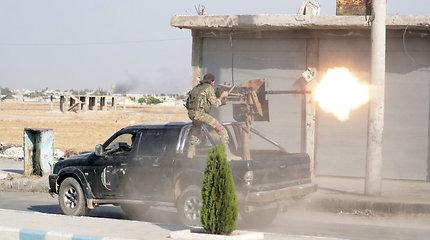 JAV nežino, kas sudaro Turkijai padedančias Sirijos opozicijos pajėgas