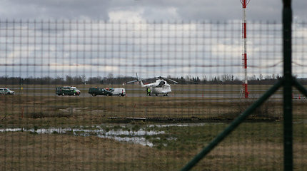 Vilniaus oro uoste priverstinai nusileido Moldovoje registruotas sraigtasparnis
