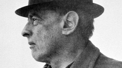 """Rašytojas W.Gombrowiczius: """"Popieriuje norėjau būti nuostabus, įdomus, triumfuojantis... bet visų pirma švarus"""""""