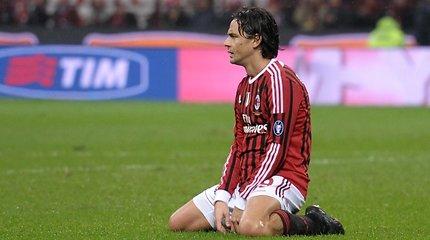 """""""Milan"""" simbolių Gennaro Gattuso ir Filippo Inzaghi taip pat neliks komandoje"""