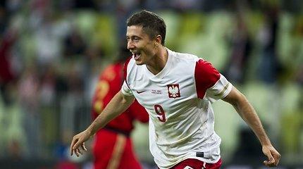 Paskelbta Lenkijos futbolo rinktinės sudėtis