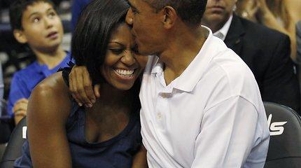 Buvusi pirmojii JAV ponia Michelle Obama