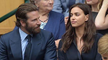 Po ketverių metų draugystės išsiskyrė Irina Shayk ir Bradley Cooperis: kam atiteks dukters globa?